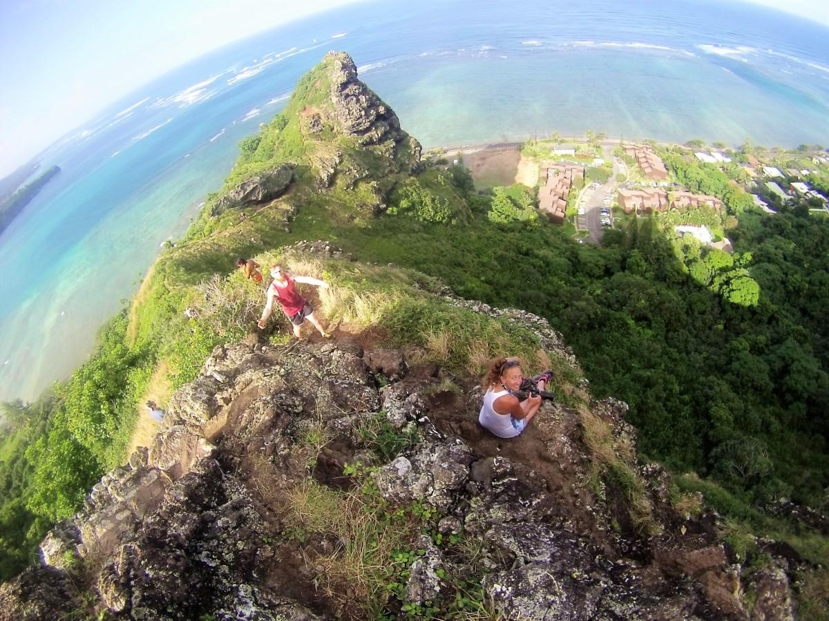 Hawaii: Crouching Lion Trail