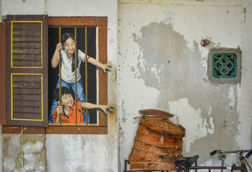 Street food and art in Malaysia's north