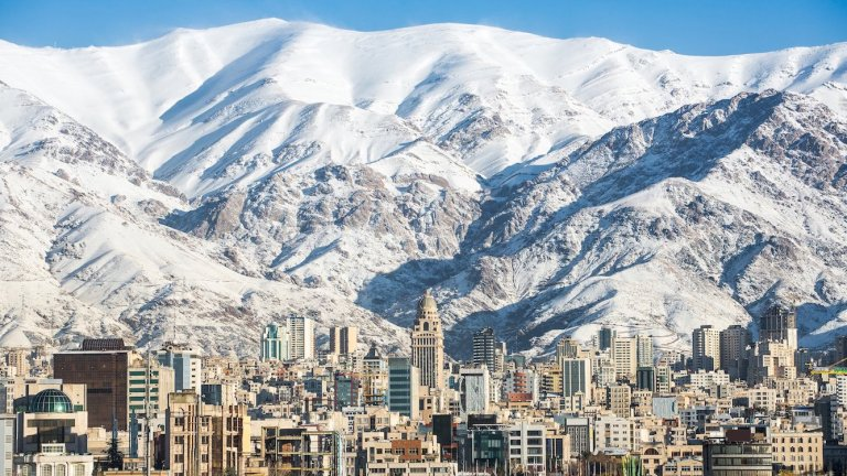skiing-iran