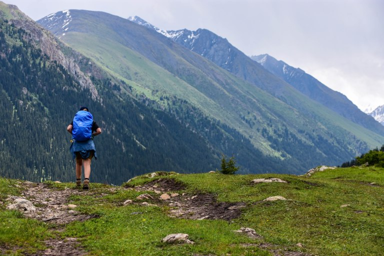 CoverMore_Lisa_Owen_Kyrgyzstan_Hiking Hilltop View