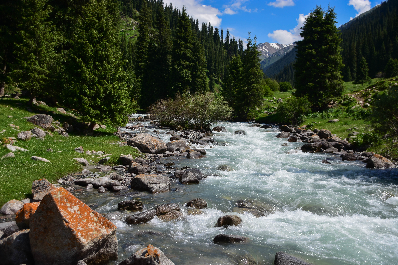 CoverMore_Lisa_Owen_Kyrgyzstan_Hiking River Mountain View