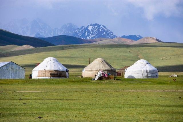 CoverMore_Lisa_Owen_Kyrgyzstan_Song Kul Yurts Row