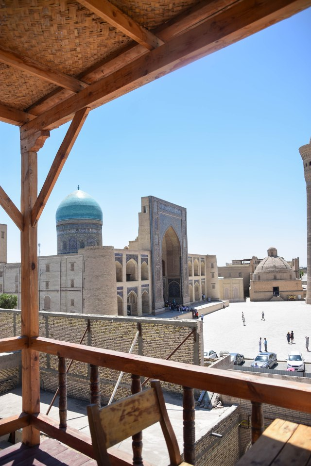 CoverMore_Lisa_Owen_Uzbekistan_Bukhara Cafe View
