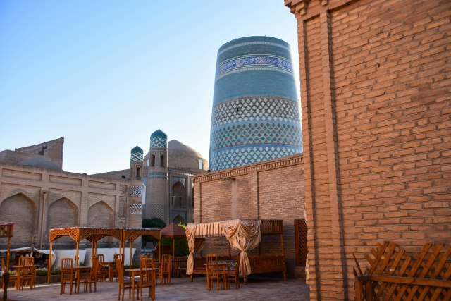 CoverMore_Lisa_Owen_Uzbekistan_Khiva_Tower View Sunset Horizontal