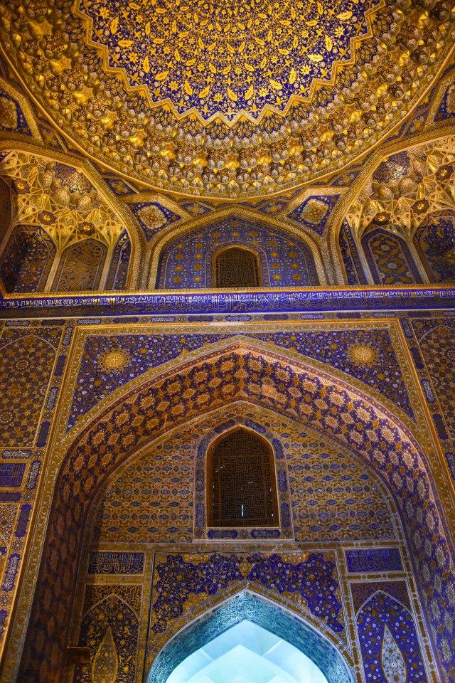 CoverMore_Lisa_Owen_Uzbekistan_Samarkand_Registan Arch