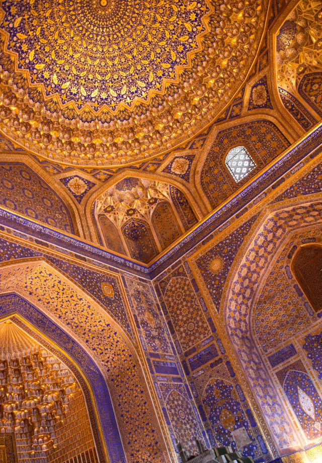 CoverMore_Lisa_Owen_Uzbekistan_Samarkand_Registan Interior